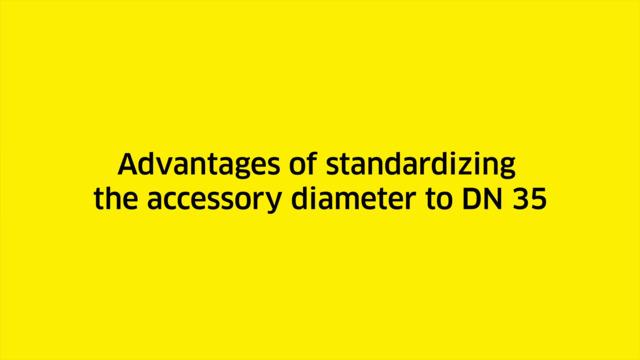 Staubsauger Kit für Kärcher T15//1Teleskoprohr mit StaubsaugerdüseØ32mm